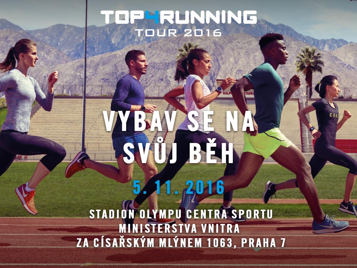 Podzimní běh Olympu láká na Přebor Prahy, běžeckou obuv a dobré jídlo